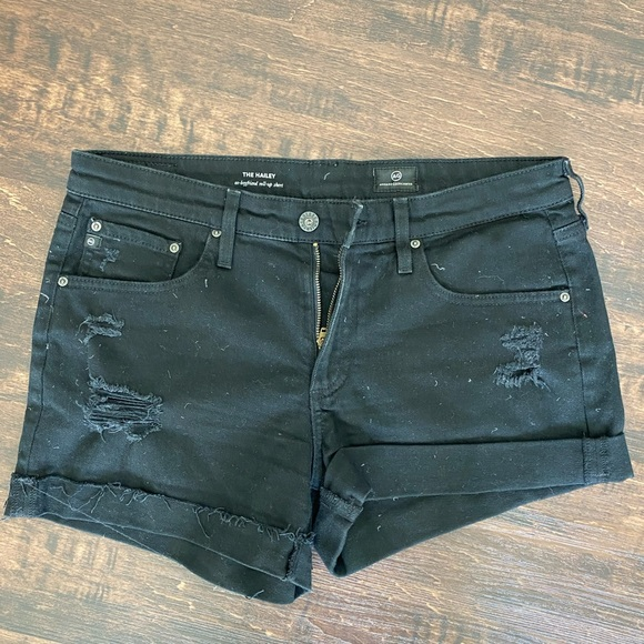 Ag Adriano Goldschmied Pants - The Hailey ex-boyfriend roll-up short by AG
